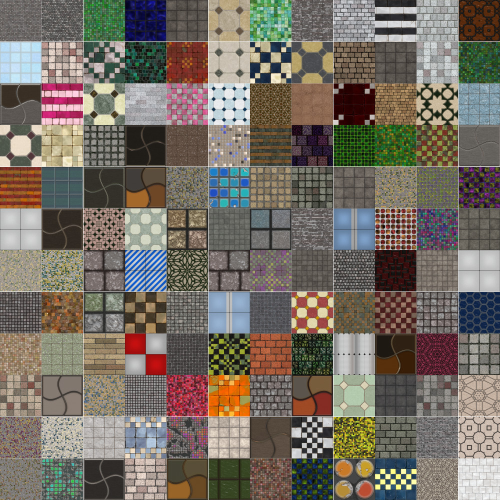 Textures Unleashed Lite Volume 27: Tiles II