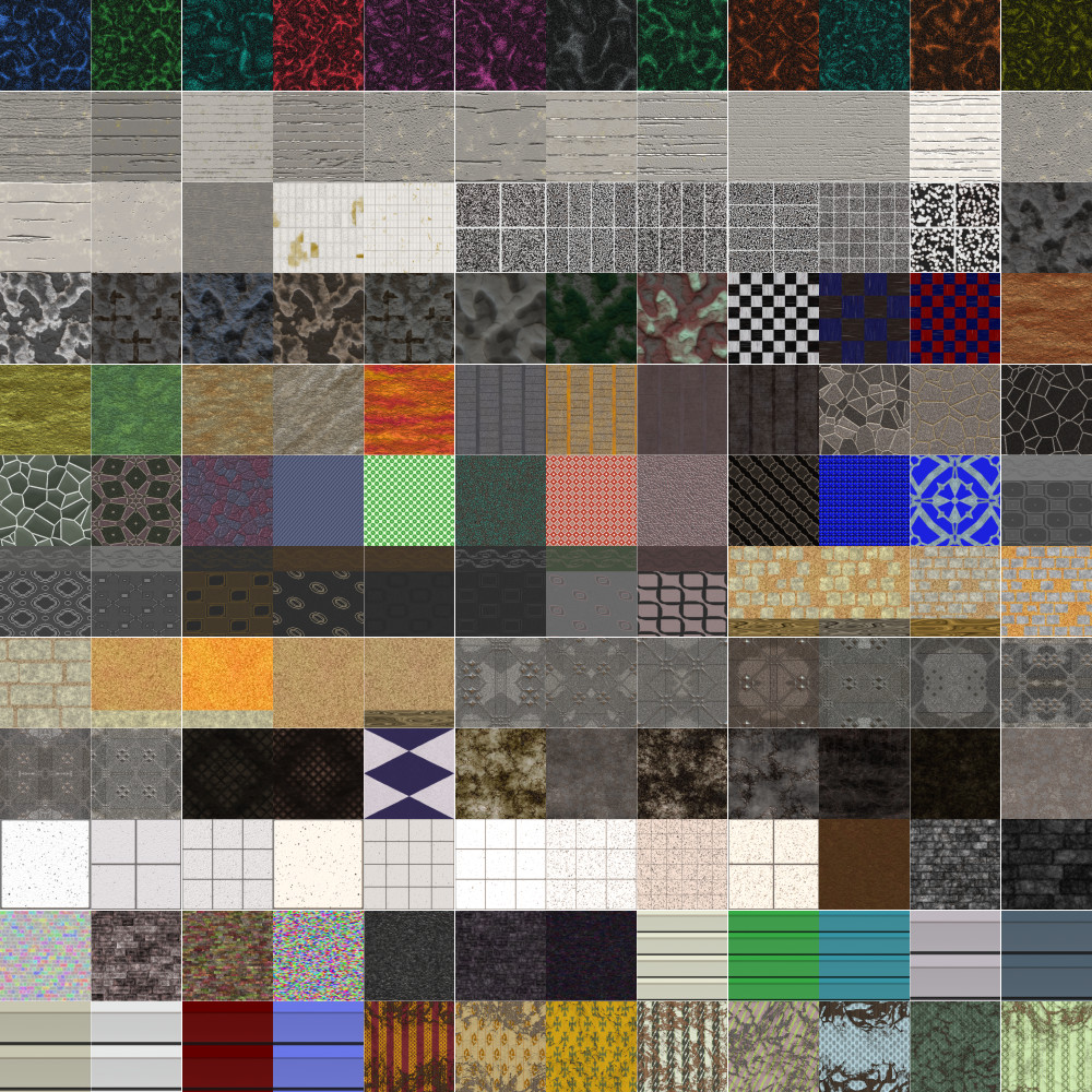 Floor and Wall Seamless Textures