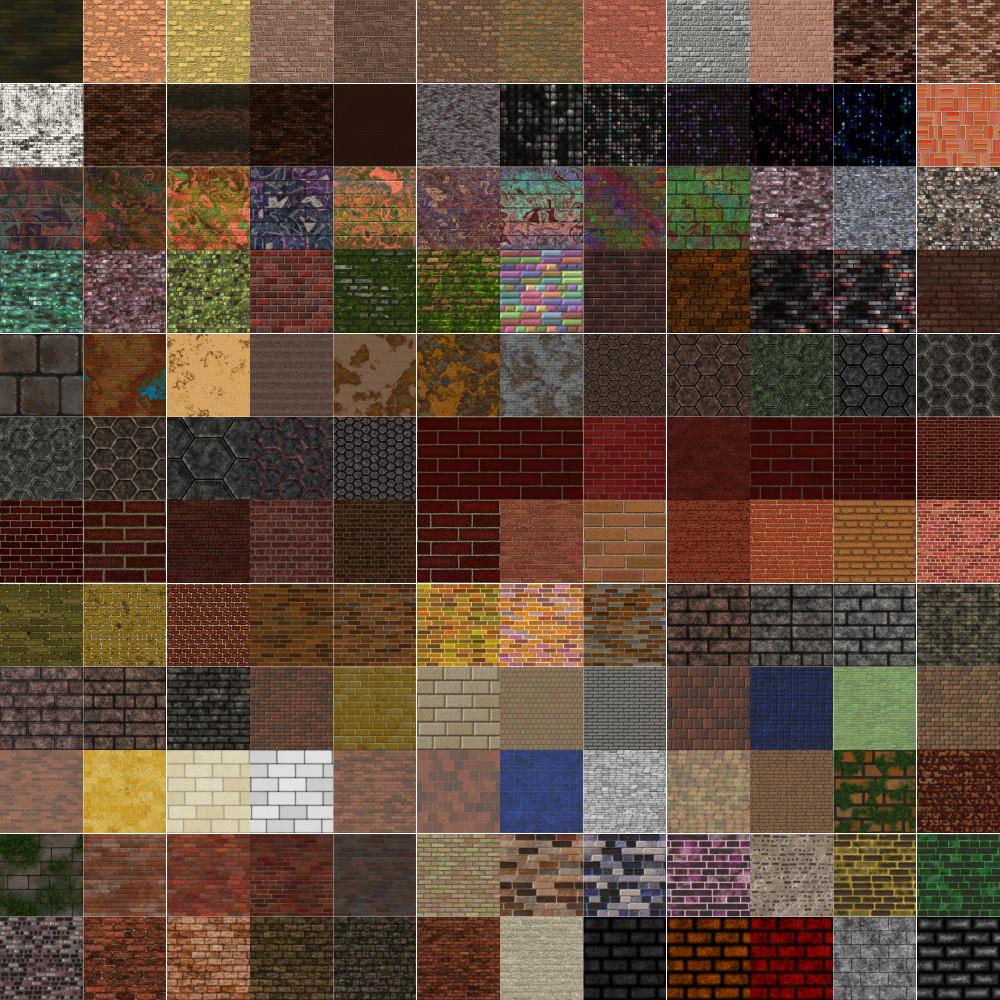 Textures Unleashed Lite Volume 35: Brick III