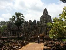 Angkor from behind