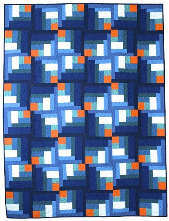 Top US quilting blog and shop, Seams Like a Dream Quilt Designs, shares about Log Cabin quilts!