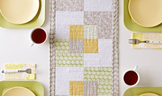 table runner and placemat pattern