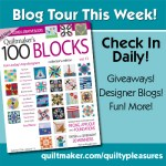 Winners and the 100 Blocks Blog Tour has begun