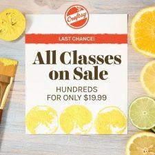 Sale thru Monday June 13th! Hurry!