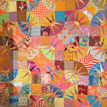 Victoria Findlay Wolfe's quilt