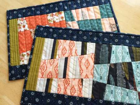 Wonky 9 Patch Tutorial featured by top US quilting blog and shop, Seams Like a Dream Quilt Designs