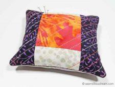 batik pincushion