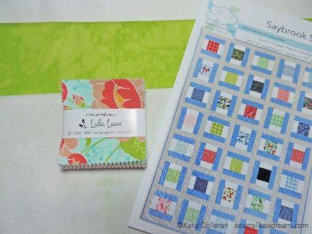 mini charm quilt