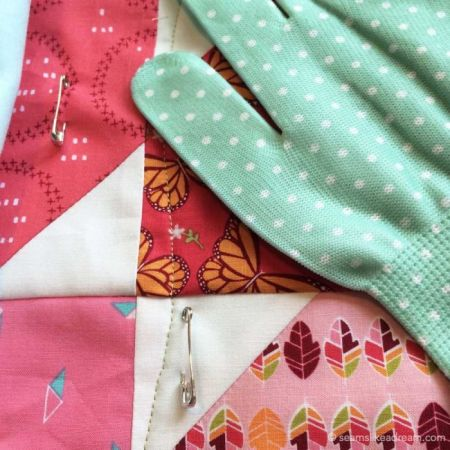 Precut Quilt Pieces: Squiggles featured by top US quilt blog and shop, Seams Like a Dream Quilt Designs: machine quilting