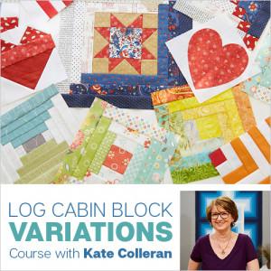 Log Cabin Block online class
