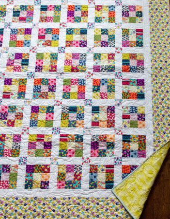 Ninth Square - a quilt by Kate Colleran