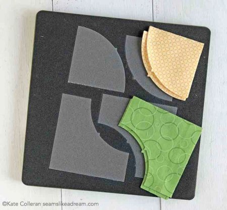 Exploring the Basics: Fabric Die Cutting featured by top US quilting blog and shop, Seams Like a Dream Quilt Designs explains the option of die cutting fabric for your curved pieces for quilting.