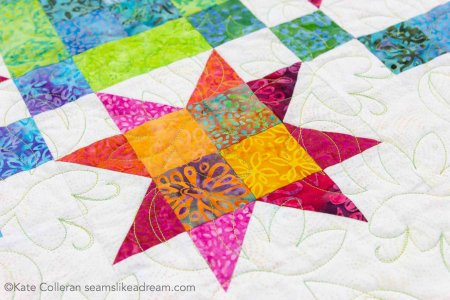 Kismet fabric collection for Island Batik featured by top US quilting blog, Seams Like a Dream Quilt Designs.