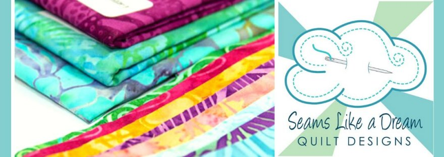 Quilt Shop Hop #4 featured by top US quilting blog and shop, Seams Like a Dream Quilt Designs