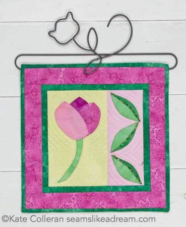 Best Spring Quilted Banners, featured by top US quilting blog and shop, Seams Like a Dream Quilt Designs, reveals 5 fun spring quilted banner patterns to dress up your space!