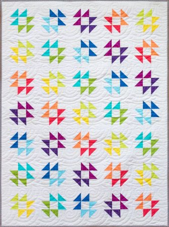 Favorite Spring Quilts, featured by top US quilting blog, Seams Lie a Dream Quilt Designs: Bright Hope