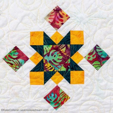 Luminous Quilt Along Project: Finished Quilts & a Bonus Free Pattern Giveaway!,featured by top US quilting blog, Seams Like a Dream Quilt Designs.