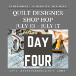 Quilt Designer Shop Hop - Day 4