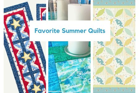 Roundup of Favorite Summer Quilts
