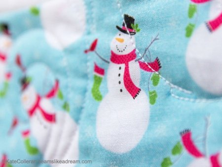 Christmas in July Quilting Project with Benartex Fabrics featured by top US quilting blog and shop, Seams Like a Dream Quilt Designs
