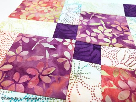 Exploring Quilting Basics: the Disappearing 9 Patch Block