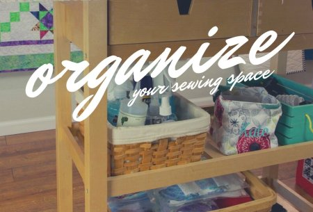 5 Tips on Organizing your Sewing Room featured by top US quilting blog and shop, Seams Like a Dream Quilt Designs.