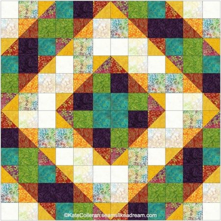 Exploring the Basics: How to Make a Shaded Nine Patch Quilt Block featured by top US quilting blog and shop, Seams Like a Dream Quilt Designs
