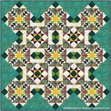 A Quilting Color Challenge with Kate and Jenny Kae featured by top US quilting blog and shop, Seams Like a Dream Quilt Designs.