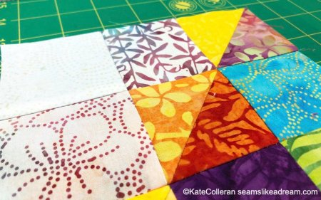 Exploring the Basics: How to Make a Shaded Nine Patch Quilt Block