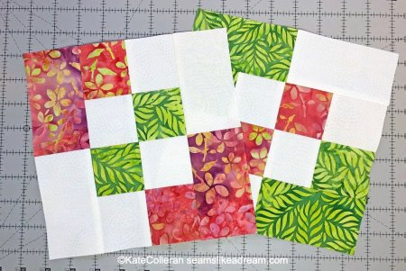 Exploring Quilting Basics: How to Make the Disappearing 4 Patch Block