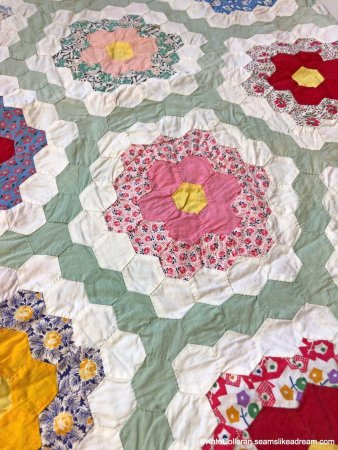 A Quilter's Alphabet- E is for English Paper Piecing, Equilateral Triangle and Estimated Fabric