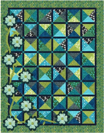A Digital Quilt Challenge to Recolor a Quilt featured by top US Quilting blog and shop, Seams Like a Dream Quilt Designs.