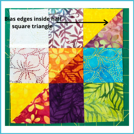 A Quilter's Alphabet, featured by top US quilting blog and shop Seams Like a Dream Quilt Designs explains G for grain. Click to read more!