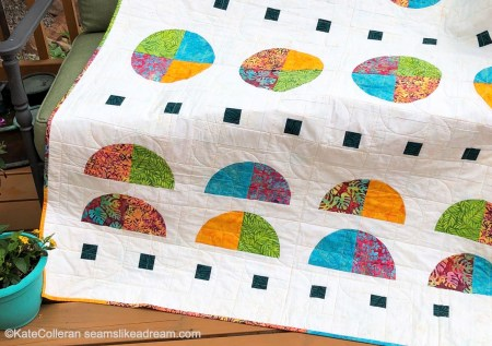 New Quilt Pattern: Tropical Moon