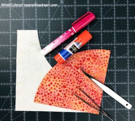 Top US quilting blog and shop, Seams Like a Dream Quilt Designs, shares tips for sewing curved quilt blocks.