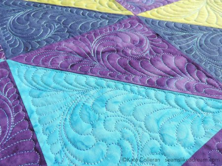 A Quilter's Alphabet: Letter N – Nesting and Negative Space in Quilting