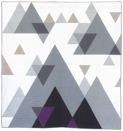 Top US quilting blog and shop, Seams Like a Dream Quilt Designs, shares about her new quilt pattern PeakView!