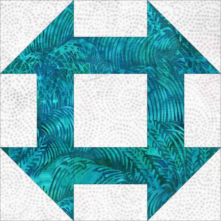 Top US quilting blog and shop, Seams Like a Dream Quilt Designs, shares about the Churn Dash Quilt block!