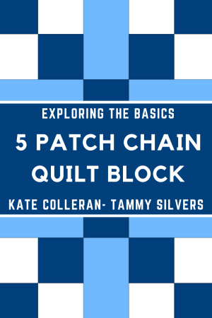 Top US quilting blog and shop, Seams Like a Dream Quilt Designs, shares about the Five Patch Chain Quilt block!