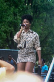 Ari Lennox Performing at Sol Blume Festival