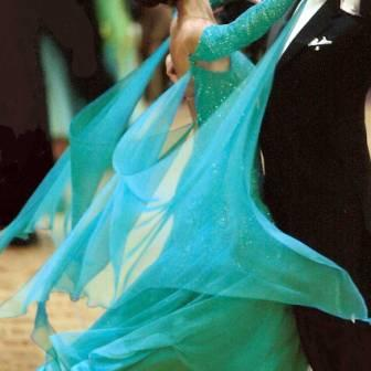 How to make chiffon or georgette floats for competition Dancesport Standard gowns and ballroom dance dresses
