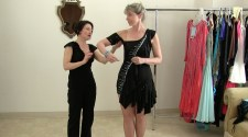 A new look: turn a store bought dress into a competition ballgown, Sew Like a Pro™