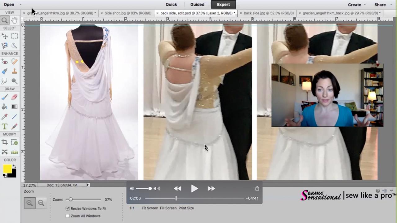 RE-DESIGN: a bargain dance dress gets a make-over
