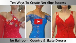 Ten perfect necklines for competition Ballroom, Country and Skate dresses