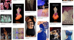 Avoid overwhelm when trying to buy or design a competition Dancesport, Country or Skater dress