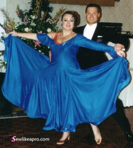 What to look for when buying a used Dancesport ballgown. Leslie Peterson, Jeff Robinson