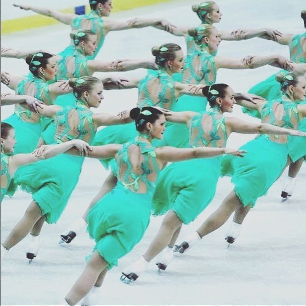 synchro skating dress design by Jannika Lilja