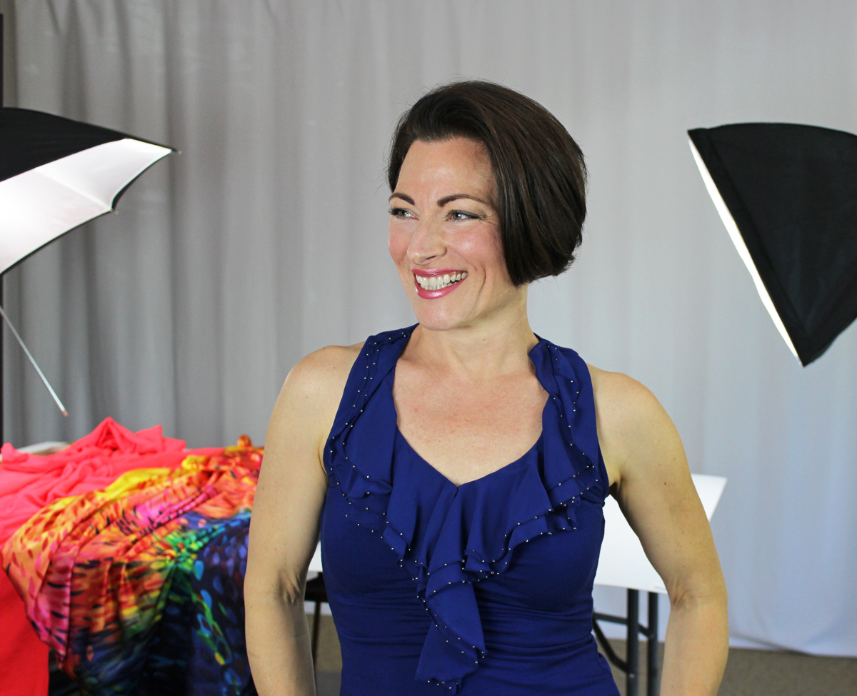 Teresa Sigmon, creator or online sewing school, learn to sew women's figure skating dress, ballroom dance costumes