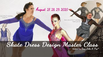women's figure skating artistic roller skate dress design master class