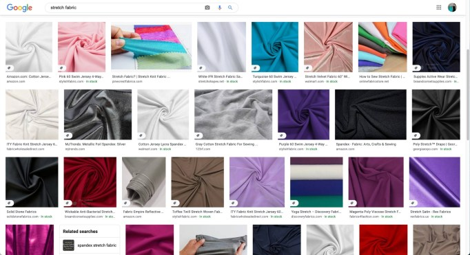 general stretch fabrics for dance and skate costumes